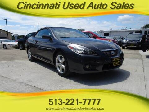2007 Toyota Camry Solara for sale at Cincinnati Used Auto Sales in Cincinnati OH