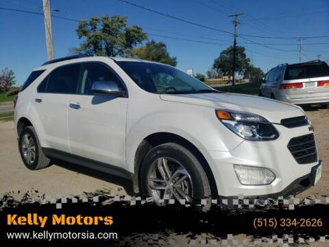 2017 Chevrolet Equinox for sale at Kelly Motors in Johnston IA