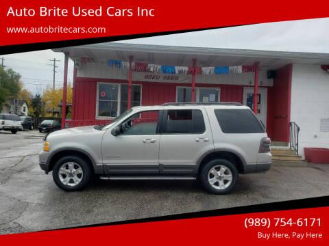 2004 Ford Explorer for sale at Auto Brite Used Cars Inc in Saginaw MI