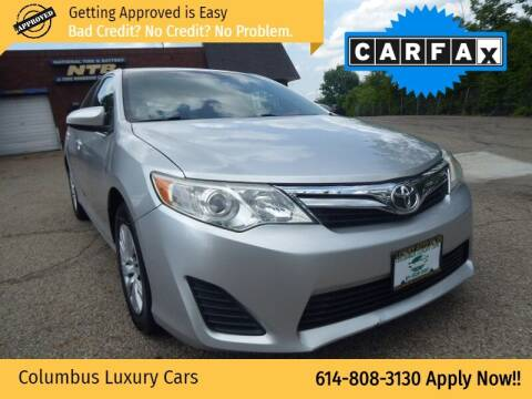 2012 Toyota Camry for sale at Columbus Luxury Cars in Columbus OH