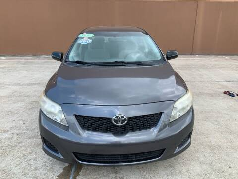 2009 Toyota Corolla for sale at ALL STAR MOTORS INC in Houston TX