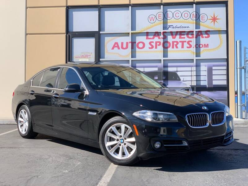 2015 BMW 5 Series for sale at Las Vegas Auto Sports in Las Vegas NV