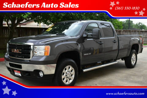 2011 GMC Sierra 3500HD for sale at Schaefers Auto Sales in Victoria TX