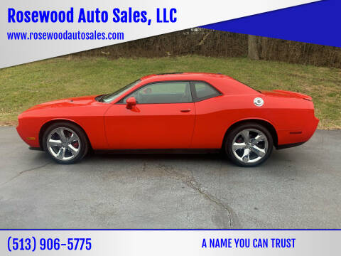 2014 Dodge Challenger for sale at Rosewood Auto Sales, LLC in Hamilton OH