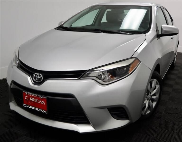 2016 Toyota Corolla for sale at CarNova in Stafford VA