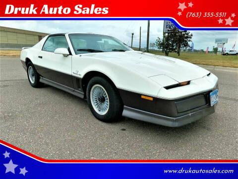 1983 Pontiac Firebird for sale at Druk Auto Sales in Ramsey MN
