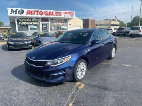 2017 Kia Optima for sale at Mo Auto Sales in Fairfield OH