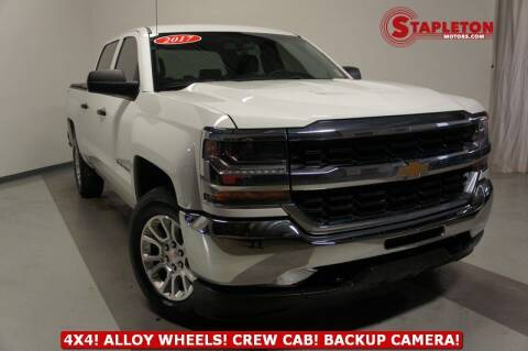 2017 Chevrolet Silverado 1500 for sale at STAPLETON MOTORS in Commerce City CO