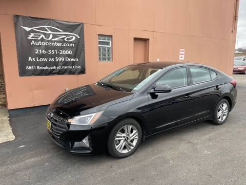2020 Hyundai Elantra for sale at ENZO AUTO in Parma OH