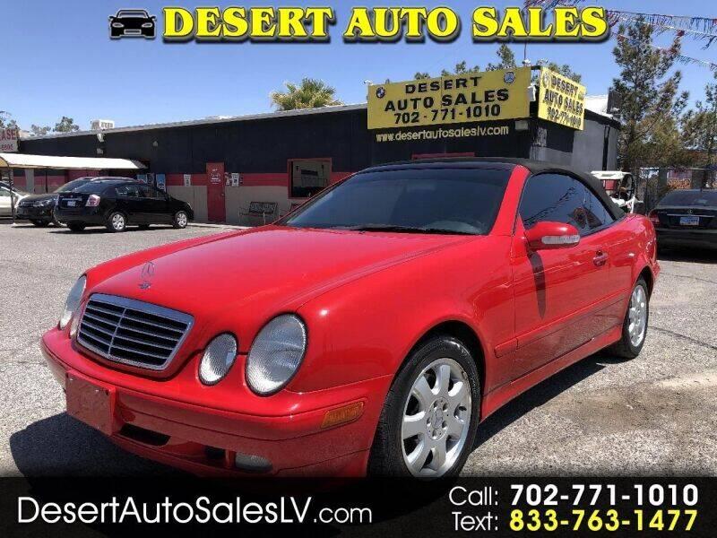 2003 Mercedes-Benz CLK for sale in Las Vegas, NV