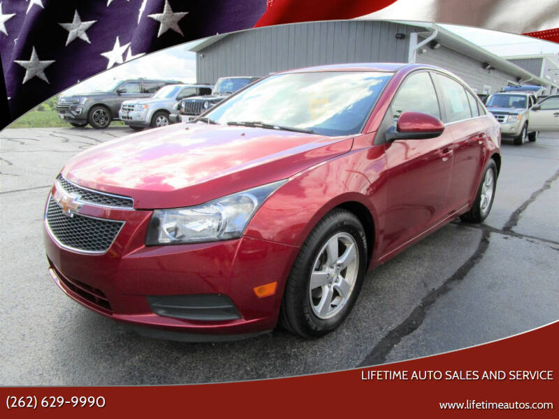 2014 Chevrolet Cruze for sale at Lifetime Auto Sales and Service in West Bend WI