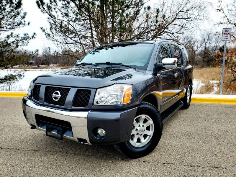 2004 Nissan Armada for sale at Excalibur Auto Sales in Palatine IL