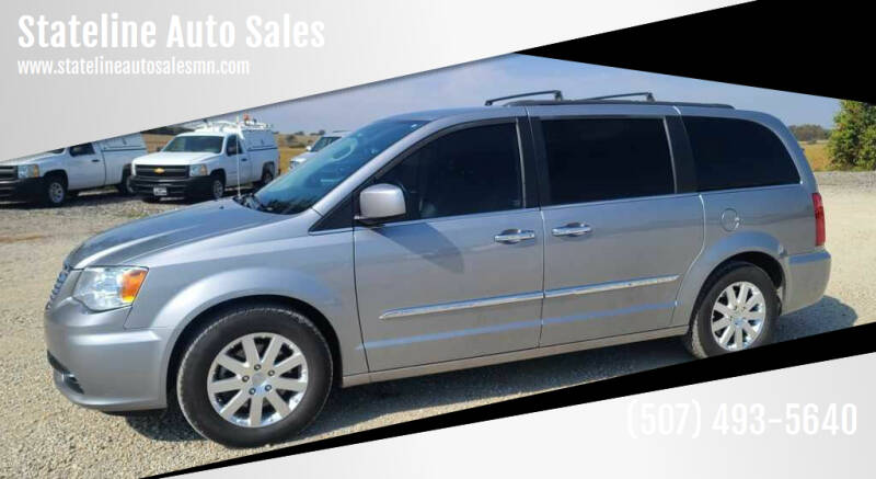 2015 Chrysler Town and Country for sale at Stateline Auto Sales in Mabel MN