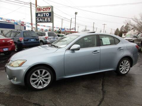 2006 Lexus IS 250 for sale at TRI CITY AUTO SALES LLC in Menasha WI