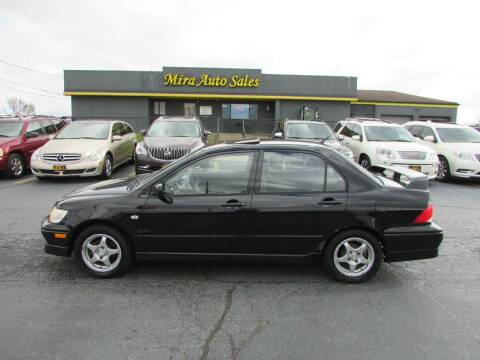 2003 Mitsubishi Lancer for sale at MIRA AUTO SALES in Cincinnati OH