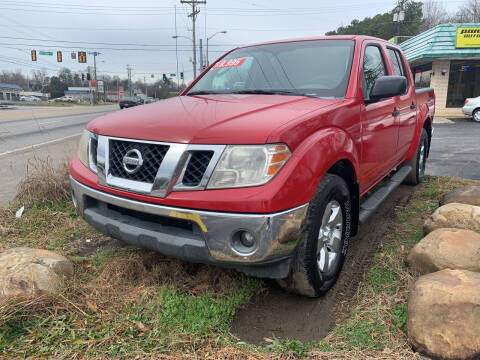 2009 Nissan Frontier for sale at Diana Rico LLC in Dalton GA