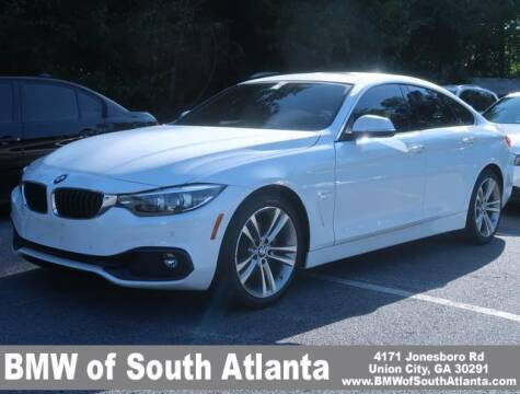 2018 BMW 4 Series for sale at Carol Benner @ BMW of South Atlanta in Union City GA