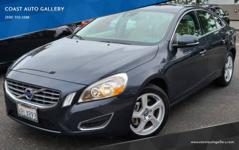2012 Volvo S60 for sale at COAST AUTO GALLERY in San Diego CA
