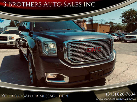 2017 GMC Yukon XL for sale at 3 Brothers Auto Sales Inc in Detroit MI