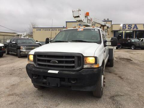 2003 Ford F-450 Super Duty for sale at BSA Used Cars in Pasadena TX