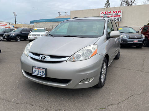 2008 Toyota Sienna for sale at Adams Auto Sales in Sacramento CA