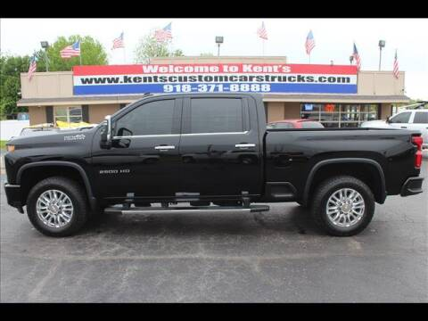2021 Chevrolet Silverado 2500HD for sale at Kents Custom Cars and Trucks in Collinsville OK