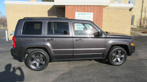 2014 Jeep Patriot for sale at LENTZ USED VEHICLES INC in Waldo WI