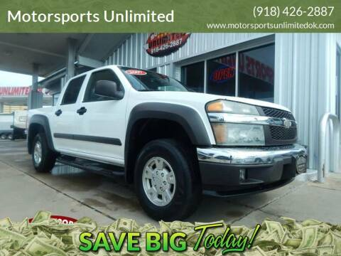 2007 Chevrolet Colorado for sale at Motorsports Unlimited in McAlester OK