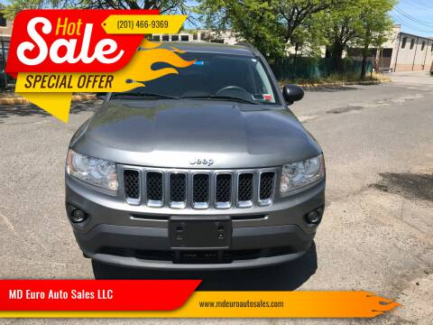 2012 Jeep Compass for sale at MD Euro Auto Sales LLC in Hasbrouck Heights NJ