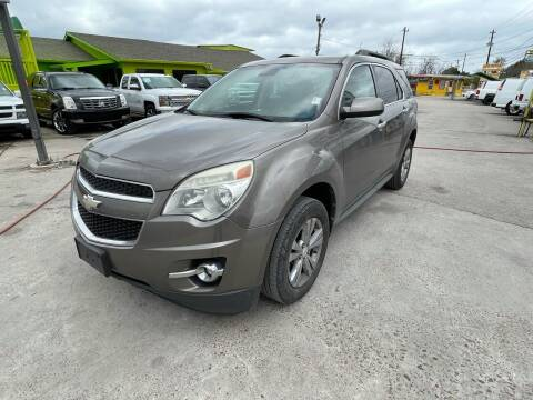 2012 Chevrolet Equinox for sale at RODRIGUEZ MOTORS CO. in Houston TX
