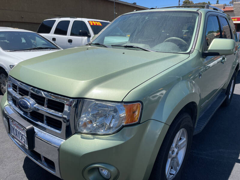 2008 Ford Escape Hybrid for sale at CARZ in San Diego CA