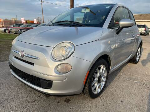 2012 FIAT 500 for sale at Texas Select Autos LLC in Mckinney TX