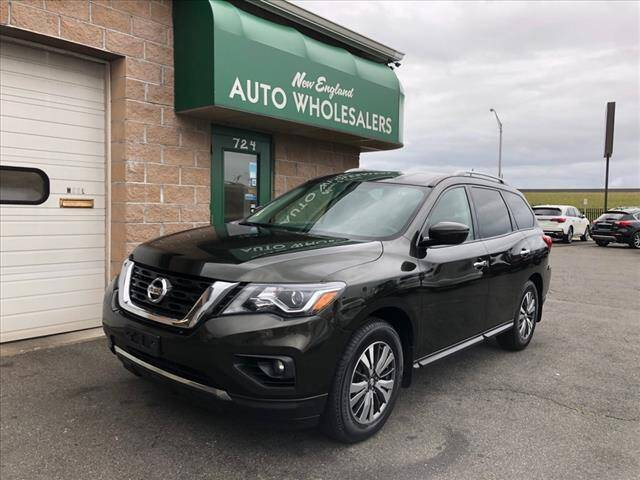 2017 Nissan Pathfinder for sale at New England Wholesalers in Springfield MA