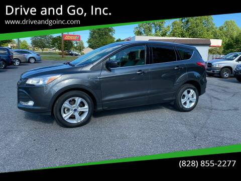 2015 Ford Escape for sale at Drive and Go, Inc. in Hickory NC