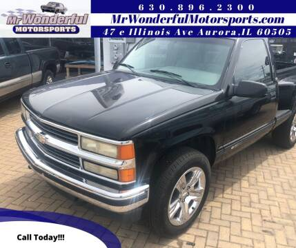 1995 Chevrolet C/K 1500 Series for sale at Mr Wonderful Motorsports in Aurora IL