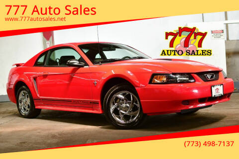 2001 Ford Mustang for sale at 777 Auto Sales in Bedford Park IL