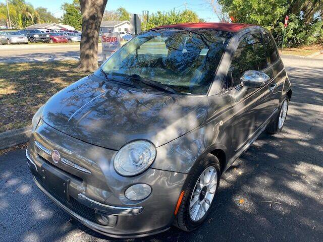 2013 FIAT 500c for sale at Florida Prestige Collection in St Petersburg FL