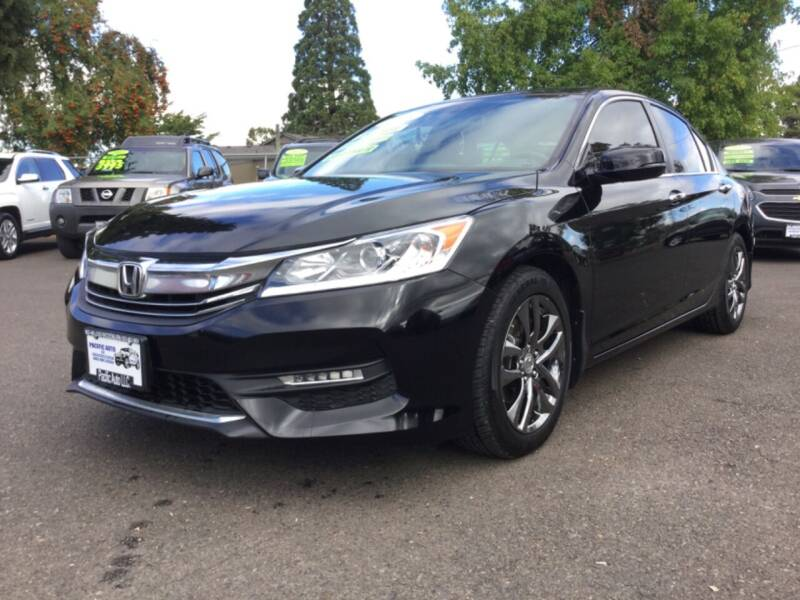 2016 Honda Accord for sale at Pacific Auto LLC in Woodburn OR