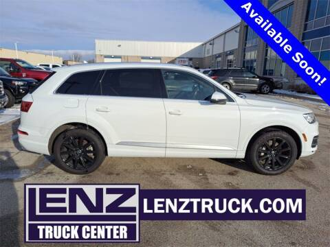 2017 Audi Q7 for sale at LENZ TRUCK CENTER in Fond Du Lac WI
