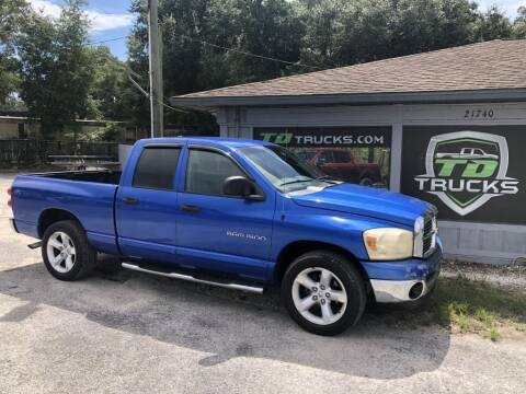 2007 Dodge Ram Pickup 1500 for sale at TD Trucks in Mt Dora FL