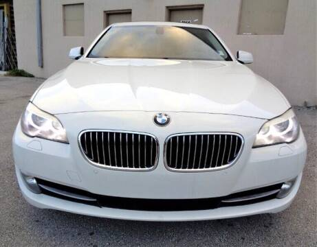 2011 BMW 5 Series for sale at Selective Motor Cars in Miami FL