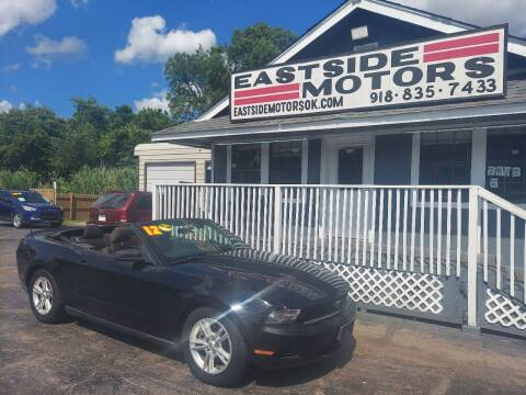 2012 Ford Mustang for sale at EASTSIDE MOTORS in Tulsa OK