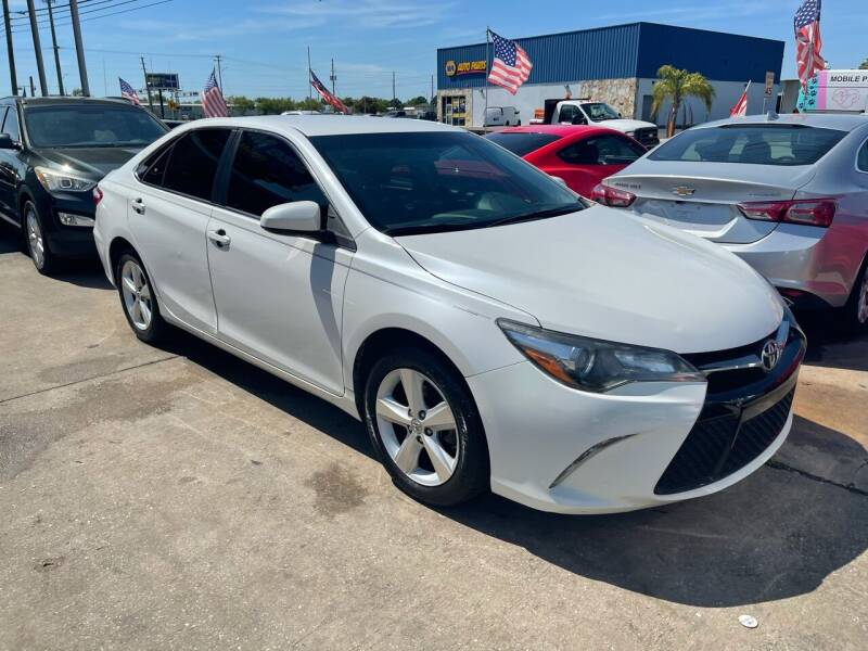 2017 Toyota Camry for sale at P J Auto Trading Inc in Orlando FL