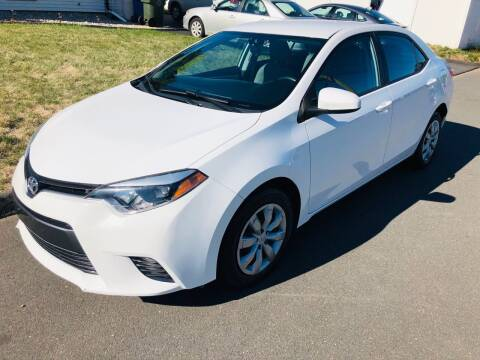 2016 Toyota Corolla for sale at Kensington Family Auto in Kensington CT