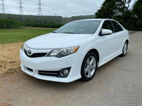 2013 Toyota Camry for sale at Tennessee Valley Wholesale Autos LLC in Huntsville AL