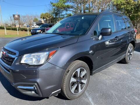 2017 Subaru Forester for sale at Sun Coast City Auto Sales in Mobile AL
