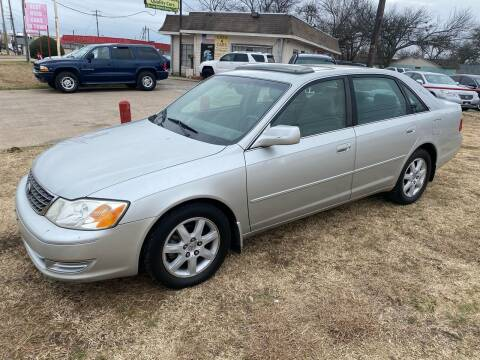 2003 Toyota Avalon for sale at Texas Select Autos LLC in Mckinney TX