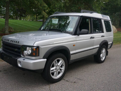 2004 Land Rover Discovery for sale at CLASSIC AUTO SALES in Holliston MA