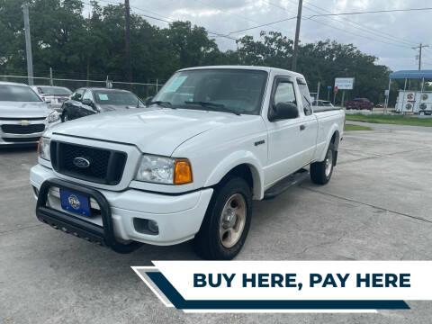2004 Ford Ranger for sale at H3 MOTORS in Dickinson TX