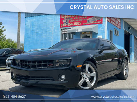 2011 Chevrolet Camaro for sale at Crystal Auto Sales Inc in Nashville TN